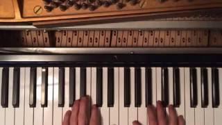 Bon Iver Beach Baby Piano Tutorial