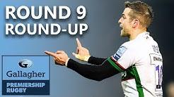Round 9 Round-Up! | Sensational London Irish, Wasps Sting Worcester! | Gallagher Premiership 2019/20