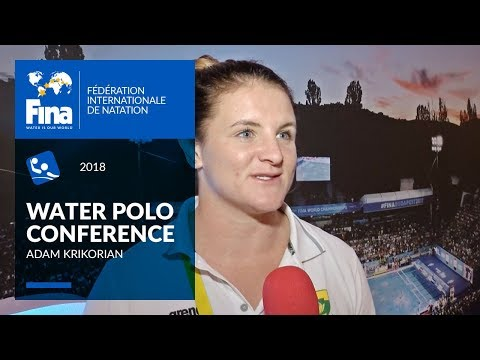 Kelsey White about Athlete's perspective | FINA World Water Polo Conference