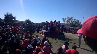 Chamisa fall from stage