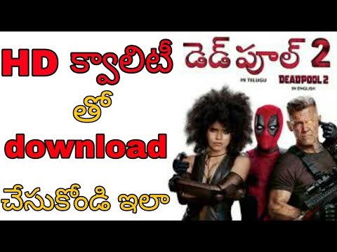 deadpool 2 full movie download in english