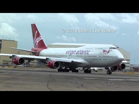 The Power and Scream of the Boeing 747 at London Heathrow Airport