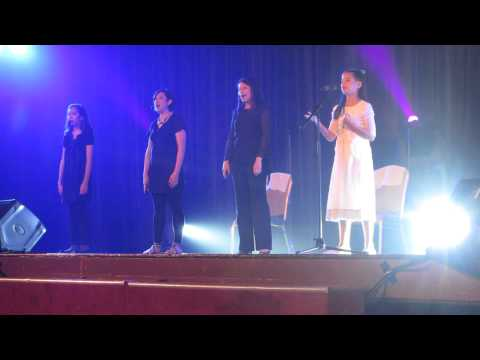 10 year old girl in Kuala Lumpur, Malaysia, sings Jenny Phillips'
