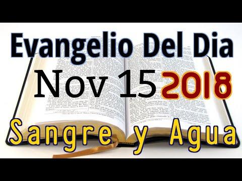 Evangelio Del Dia- Jueves 15 Noviembre 2018- El Reino De Dios En Nuestras Vidas- Sangre Y Agua