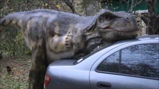 Динозавр занимается сексом