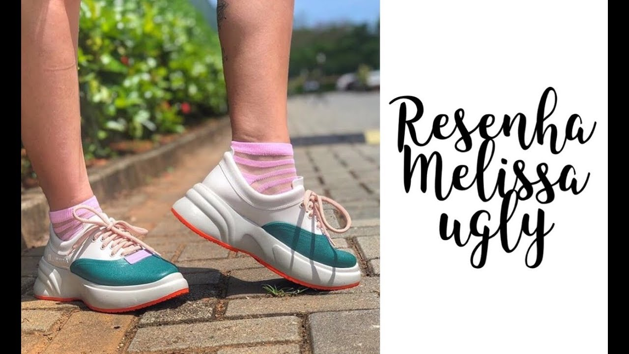 the best attitude 71da8 1aee8 Nanda Barros - resenha Melissa Ugly Sneaker