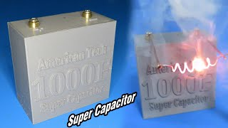 How to make 1000F Suṗer Capacitor