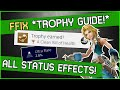A Clean Bill of Health - Final Fantasy 9 Trophy Guide - ALL STATUS EFFECTS!