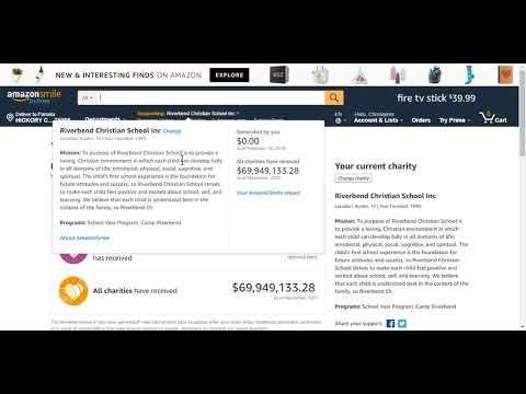riverbend - amazon - track donations