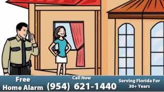 Home Security Systems in Broward County, FL   Free Installation and Alarm System