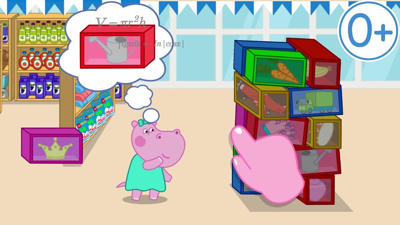 Hippo   Game update   Supermarket   Shopping Games for Kids   Video-2 16х9