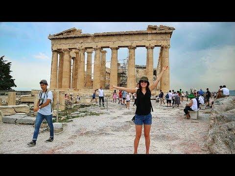 ATHENS  // THE PARTHENON // Travel Vlog #11