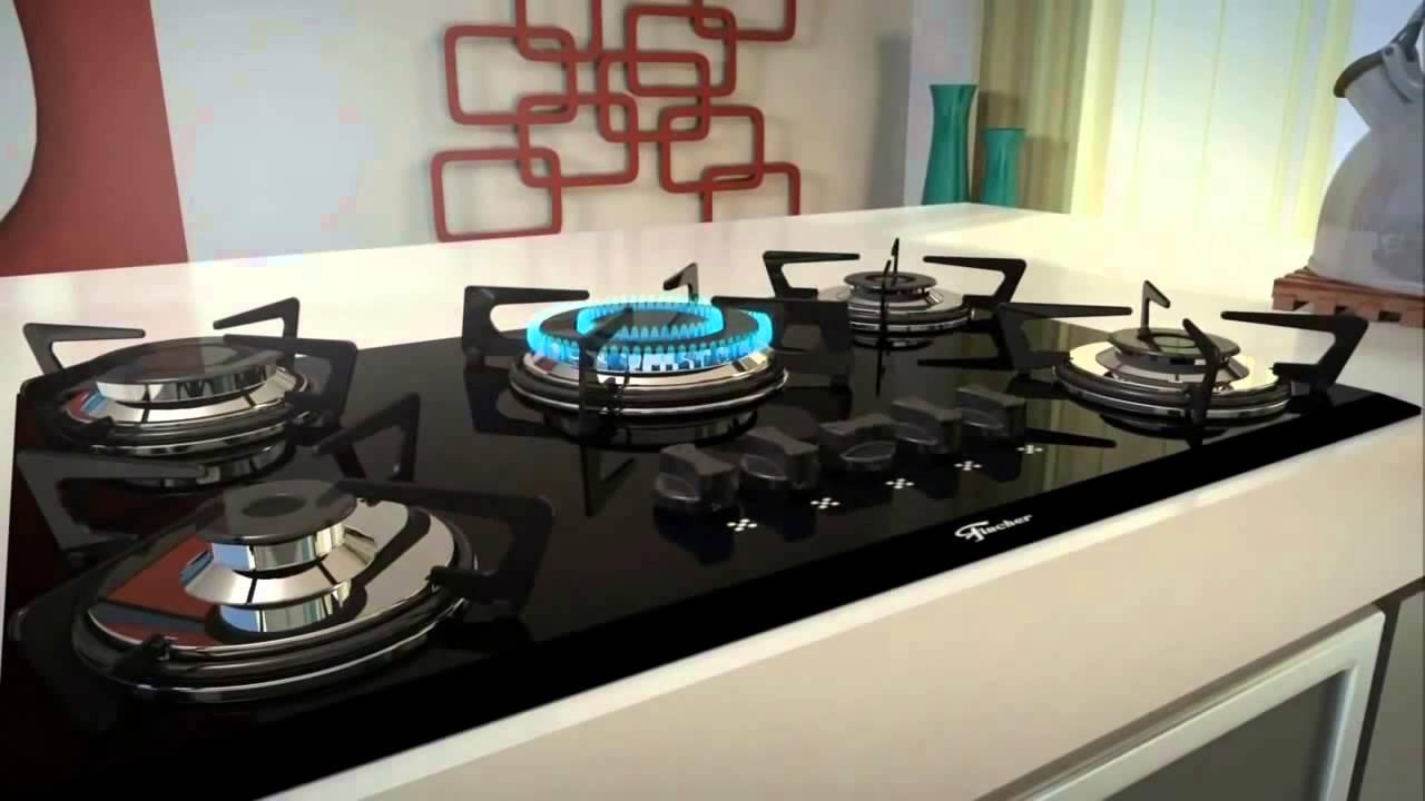 conhe a o cooktop de embutir fischer youtube. Black Bedroom Furniture Sets. Home Design Ideas