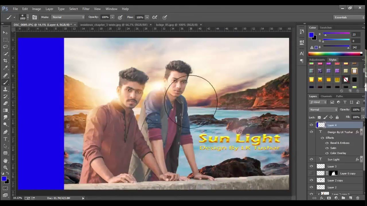 Sun light photoshop tutorial new tutorial 2016 photoshop sun light photoshop tutorial new tutorial 2016 photoshop effect lk tushar youtube baditri Image collections