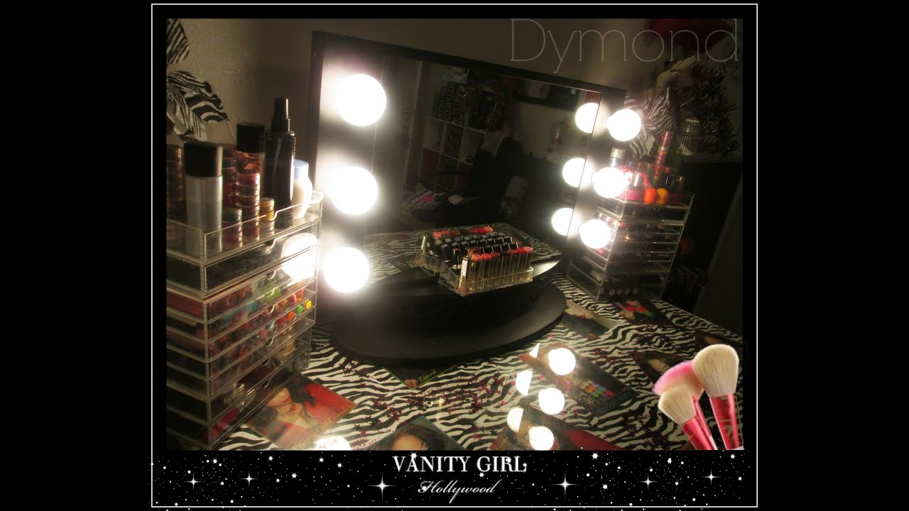 Review my vanity girl hollywood mirror starlet tabletop youtube review my vanity girl hollywood mirror starlet tabletop youtube aloadofball Image collections
