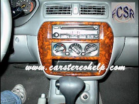 Mitsubishi Galant Car Radio Removal  YouTube