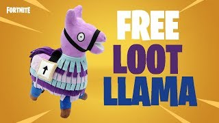 HOW TO GET FREE FORTNITE LOOT LLAMA TOY!
