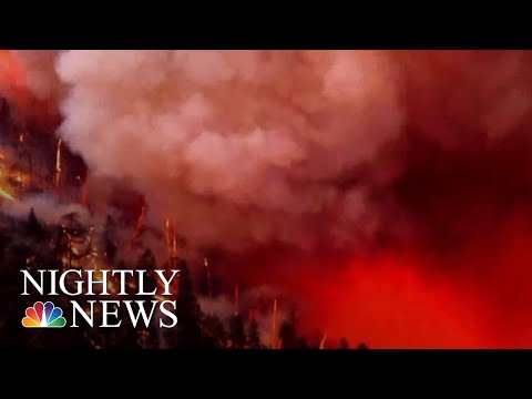 Evacuations Ordered As Colorado Wildfire Grows | NBC Nightly