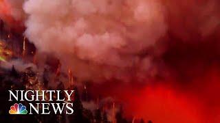 Evacuations Ordered As Colorado Wildfire Grows | NBC Nightly News