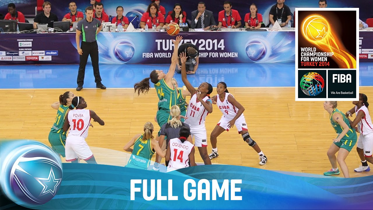 Cuba v Australia - Full Game - Group C - 2014 FIBA World Championship for Women