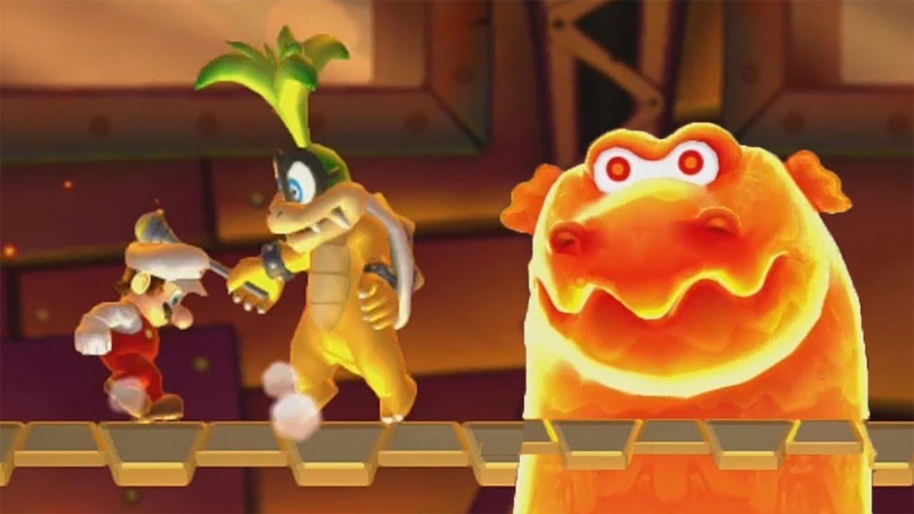 New Super Mario Bros U Walkthrough Part 5 Soda Jungle Cuitan Dokter