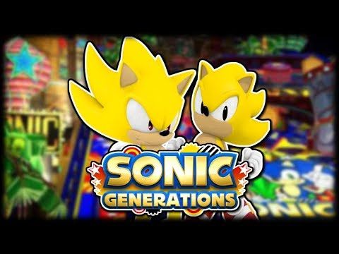 Sonic Generations Bonus (Super Sonic & Casino Night Pinball DLC)
