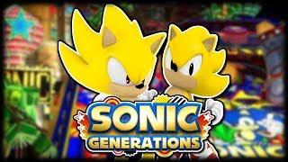 Sonic Generations Bonus (Super Sonic & Casino Night Pinball DLC)