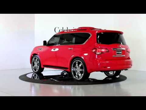 2011 Infinti Qx56 2wd 52000 Watt Custom Sound Pkg Custom Pearl