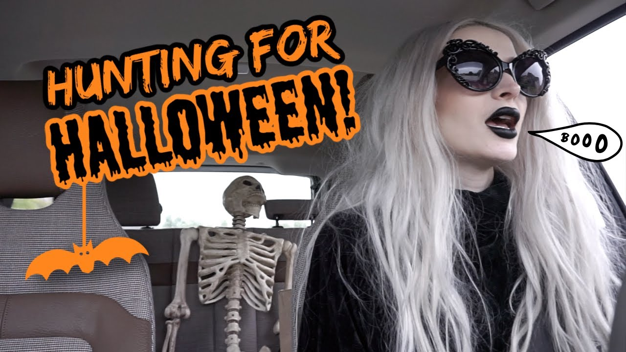 Halloween Decor Hunting!! Home Depot, Target, HomeGoods!