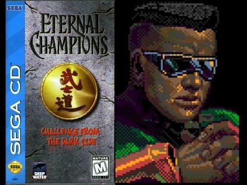 Eternal Champions: Challenge from the Dark Side (Sega CD) - Blade Playthrough (Warrior)