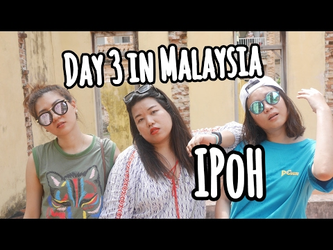 DAY 3 IN MALAYSIA : IPOH  WT OIL NUT JAY
