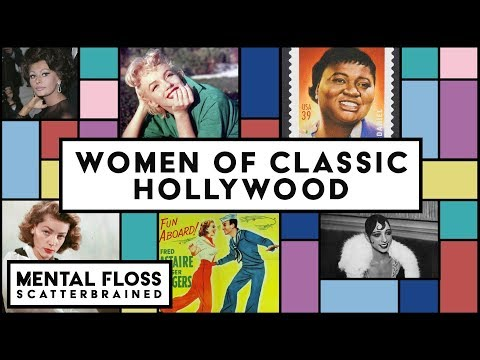 The LittleKnown Lives of the Women in Classic Hollywood  Mental Floss Scatterbrained