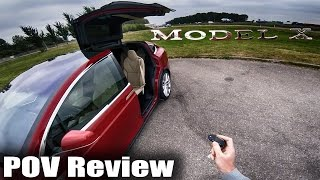 Tesla Model X Review POV Test Drive