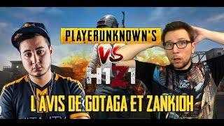 H1Z1 vs PUBG : l'avis de GOTAGA et ZANK