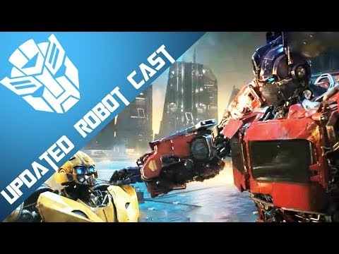 Transformers Bumblebee The Movie Robot Cast Updated