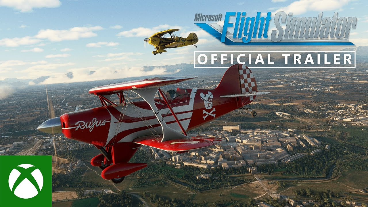 Microsoft Flight Simulator - Xbox Series X S Gameplay Trailer - Xbox & Bethesda Games Showcase 2