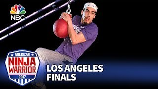 Gabe Hurtado at the Los Angeles City Finals - American Ninja Warrior 2017