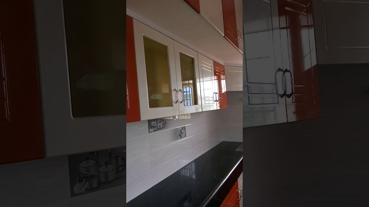 Modular Kitchen With Duco Paint Finish Youtube