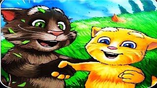 Говорящий рыжий кот Джинджер 2  #10 Открываем пазлы  Мультик игра для детей  #Мобильные игры