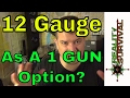 12 Gauge As Your One Option?