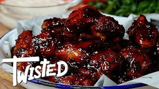 How To Make Sticky Irish Stout Wings For St Patrick's Day