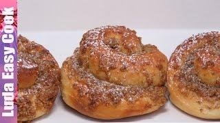 Вкусные БУЛОЧКИ с КОФЕЙНОЙ НАЧИНКОЙ и хрустящей песочной крошкой Striezel recipe Braided Sweet Bread