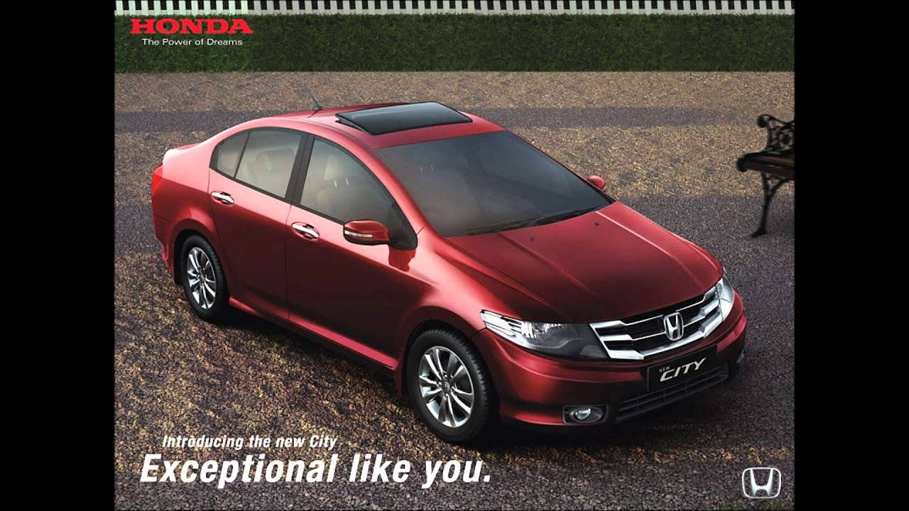Car In India Honda City 2012 Youtube