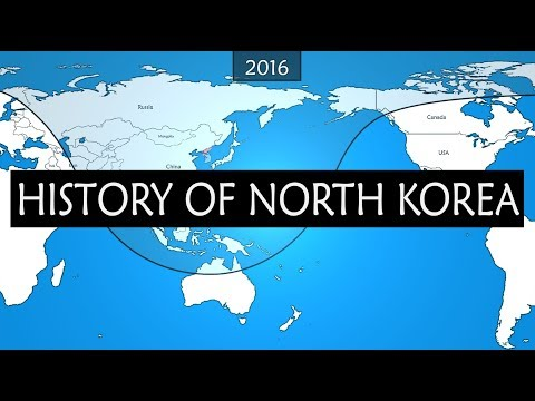 North Korea  - 70 years of history
