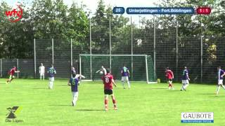 FC Unterjettingen vs. FV Fortuna Böblingen: Die Zusammenfassung
