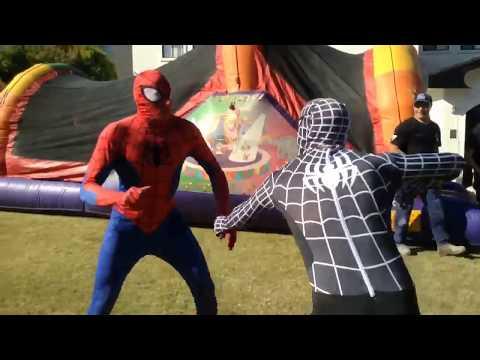 Super-Hero Parties Australia - Spider-Man vs Venom/Black Spider-Man