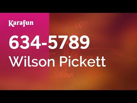 Karaoke 634-5789 - Wilson Pickett *
