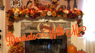Fall Lantern Diy | Decorate My Fireplace With Me For Fall 2019