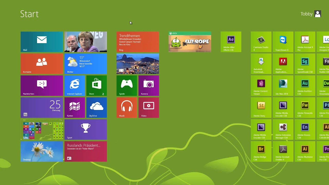 screenshots in windows 8 schnell erstellen youtube. Black Bedroom Furniture Sets. Home Design Ideas
