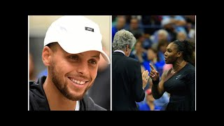 NBA news: Steph Curry backs Serena Williams over US Open final outburst